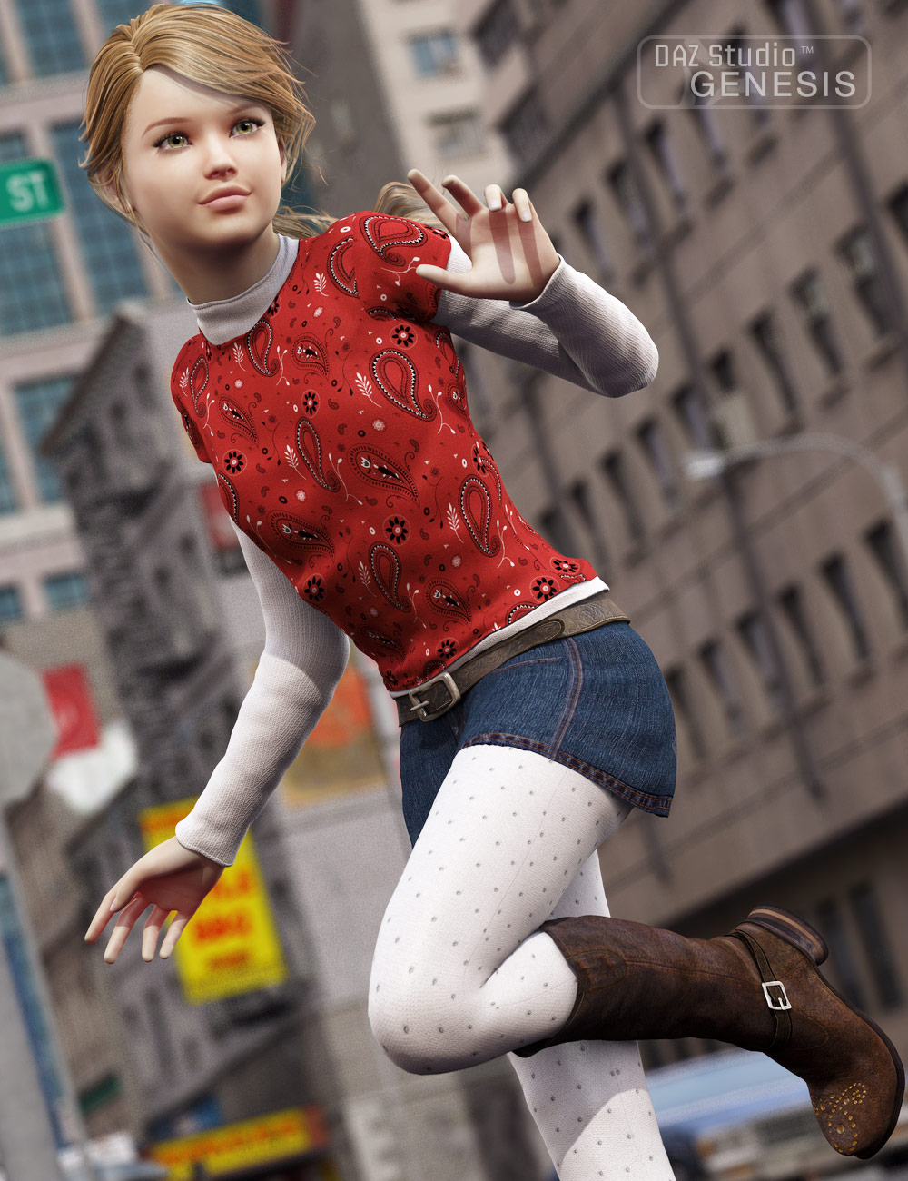 17 Chic by: , 3D Models by Daz 3D