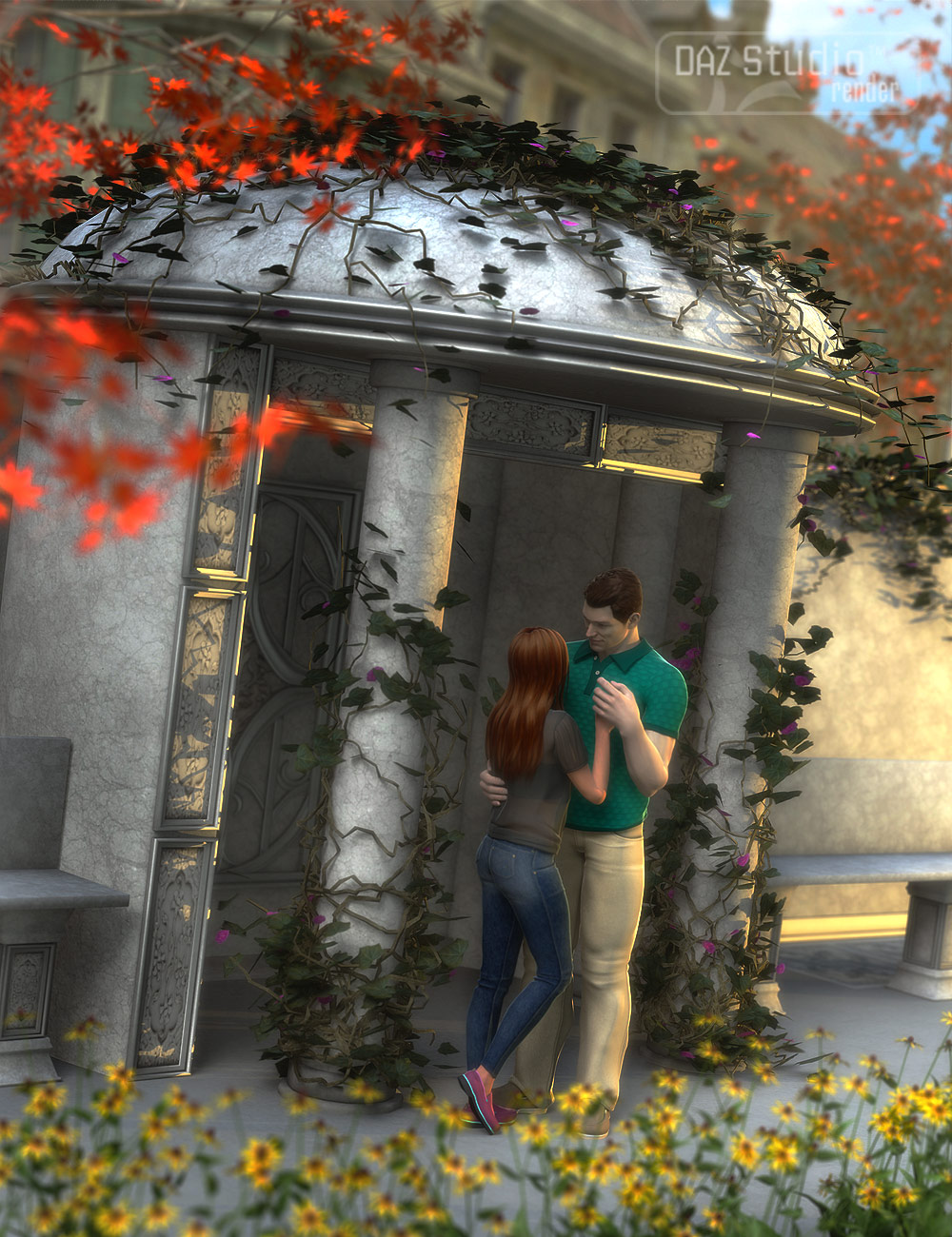 The Alcove by: ARTCollab, 3D Models by Daz 3D