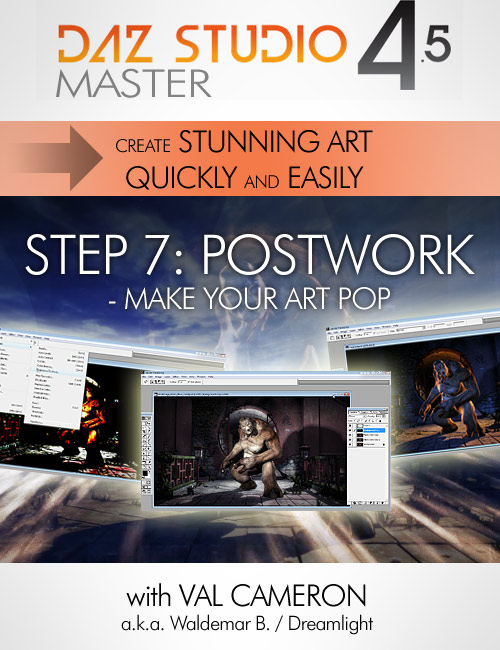 7.1 Great Art Now - Postwork by: Dreamlight, 3D Models by Daz 3D