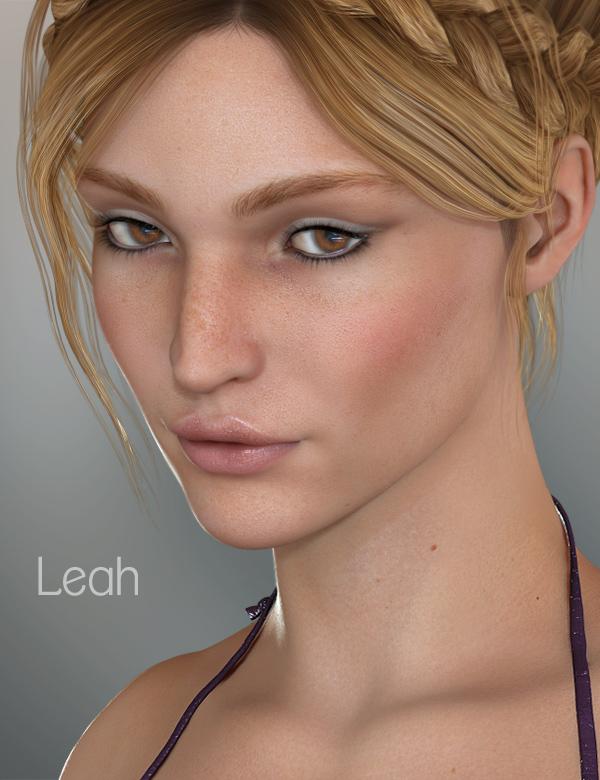 Leah for V5 by: Raiya, 3D Models by Daz 3D