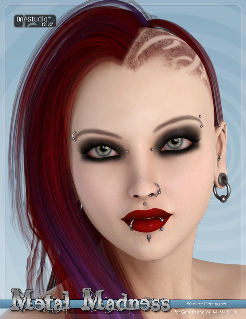 Metal Madness by: DemonicaEviliusWitchDidi, 3D Models by Daz 3D