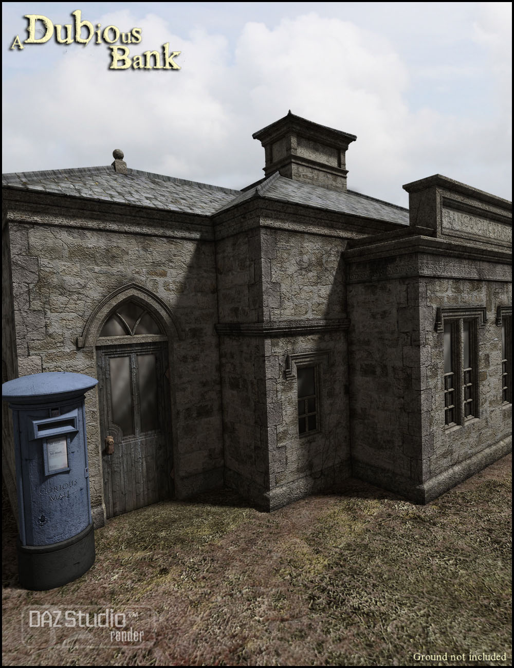 Dubious Bank by: Jack Tomalin, 3D Models by Daz 3D