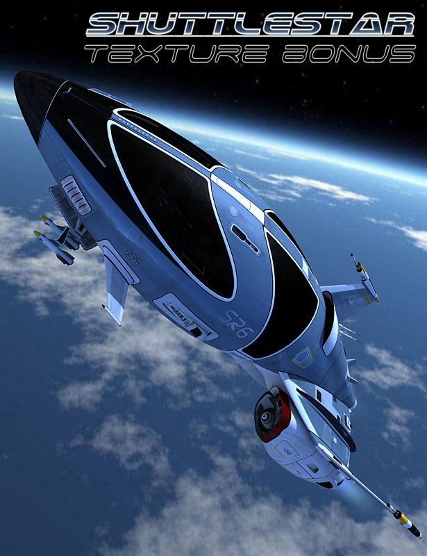 Shuttlestar Bonus Texture by: Kibarreto, 3D Models by Daz 3D