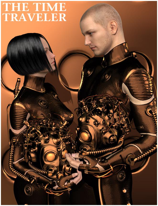The TimeTraveler by: Oskarsson, 3D Models by Daz 3D