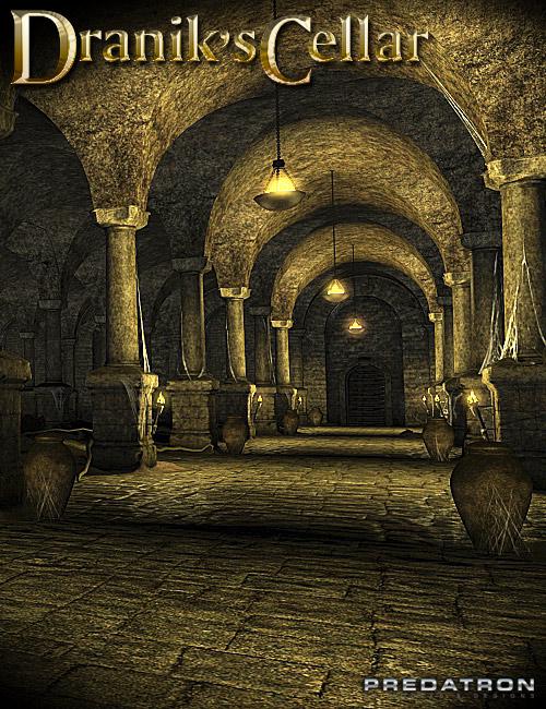 Dranik's Cellar by: Predatron, 3D Models by Daz 3D