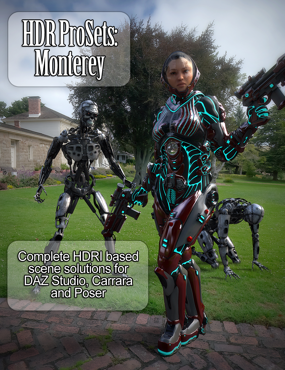 HDR Pro Sets Monterey by: DimensionTheory, 3D Models by Daz 3D