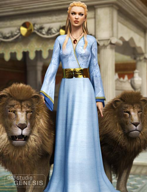 Lion Queen for Genesis Female by: Ravenhair, 3D Models by Daz 3D