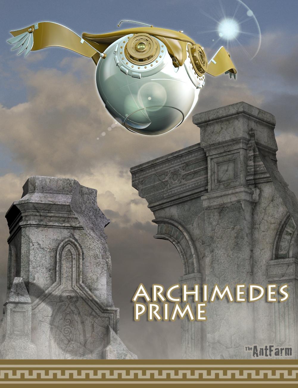 Archimedes Prime by: The AntFarm, 3D Models by Daz 3D