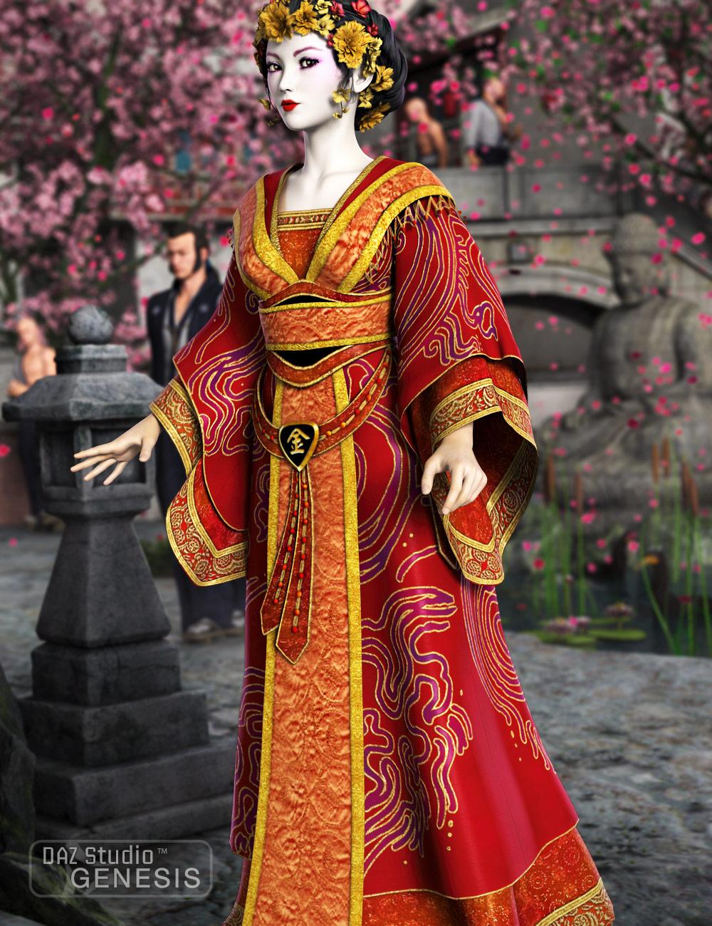 Princess Asia by: esha, 3D Models by Daz 3D