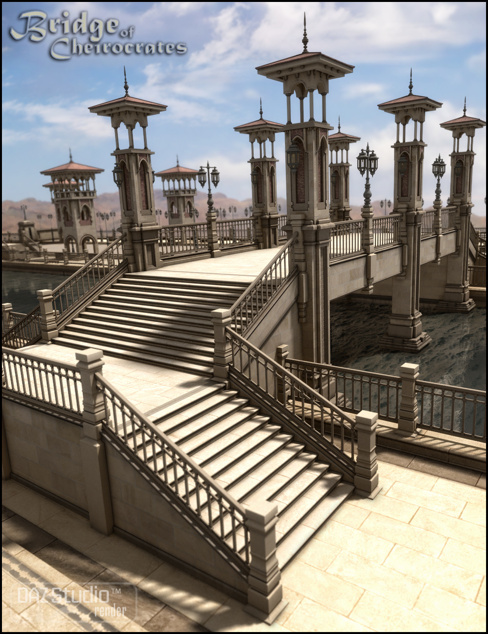 Bridge of Cheirocrates by: Jack Tomalin, 3D Models by Daz 3D