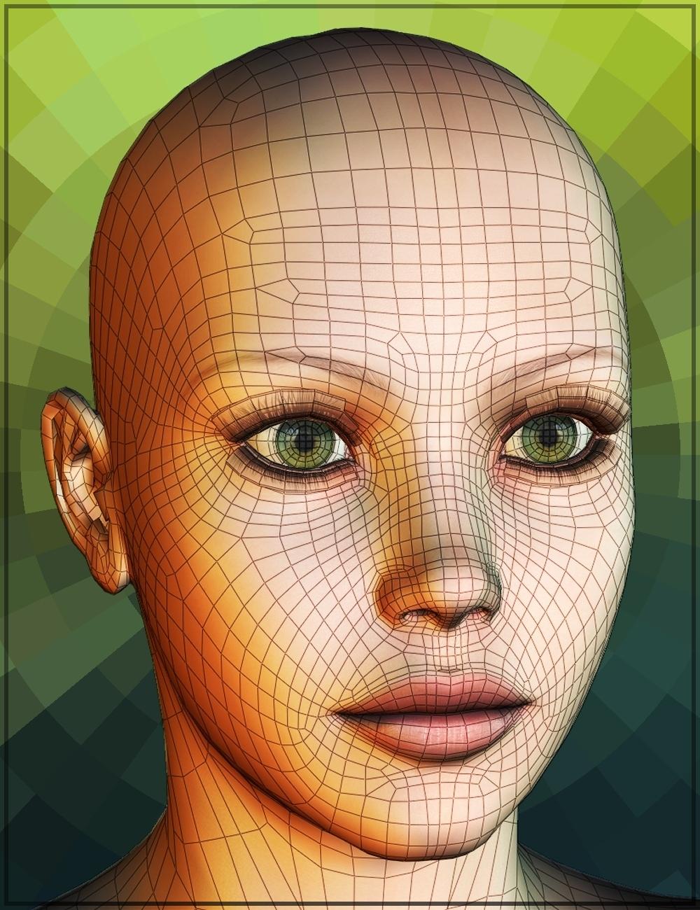 Genesis Head Morph Resource Kit 4 by: ThorneHandspan Studios, 3D Models by Daz 3D
