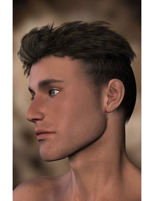 Mihai Hair by: Neftis3D, 3D Models by Daz 3D