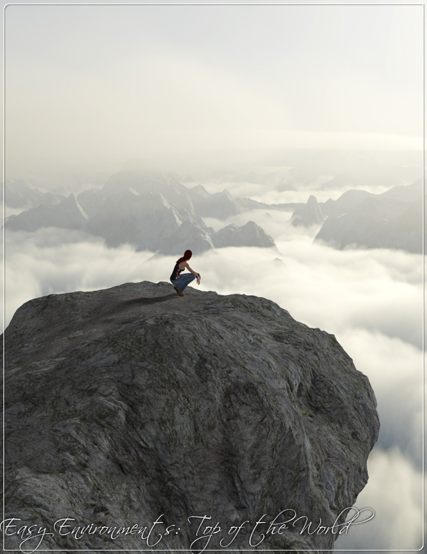 Easy Environments Top of the World by: Flipmode, 3D Models by Daz 3D