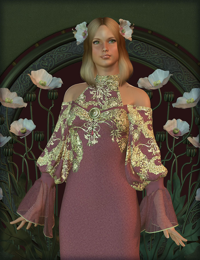 Essence for Genesis by: Mada, 3D Models by Daz 3D