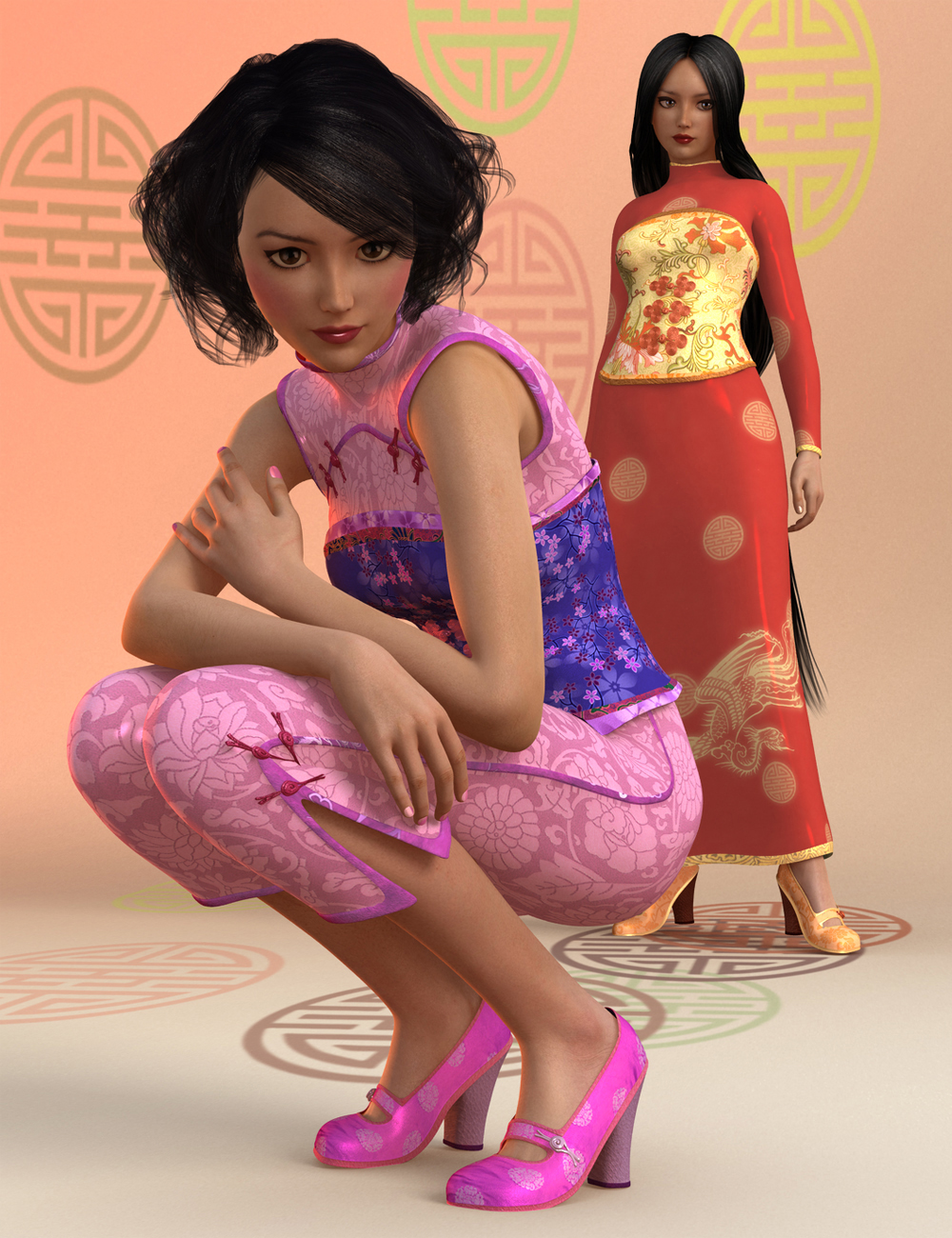 Shanghai Style by: Canary3d, 3D Models by Daz 3D
