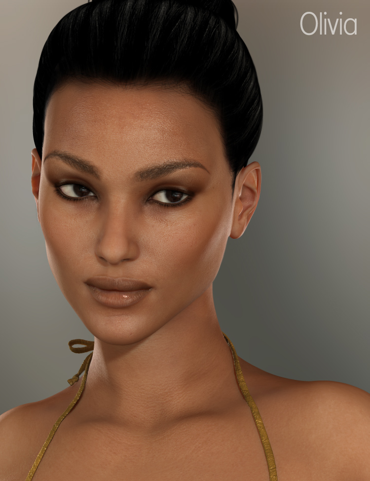 Olivia for V5 by: Raiya, 3D Models by Daz 3D