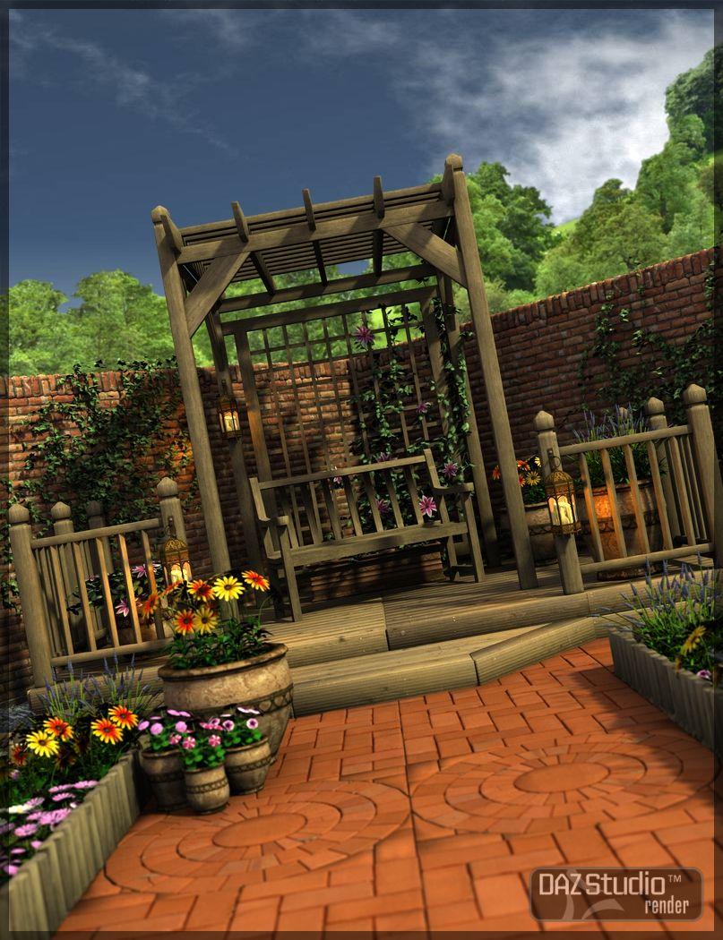 Infinite Gardens by: Merlin Studios, 3D Models by Daz 3D