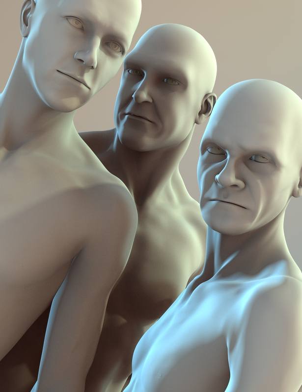 extraOrdinary Men for D5 and Genesis by: JoeQuick, 3D Models by Daz 3D