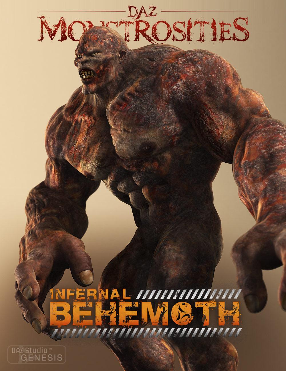 DAZ Monstrosities: Infernal Behemoth by: , 3D Models by Daz 3D