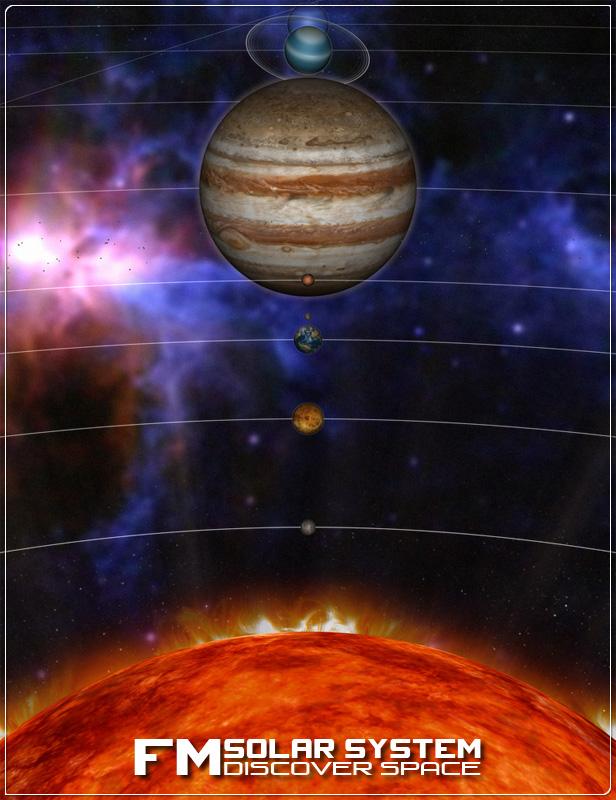 FM Solar System by: Flipmode, 3D Models by Daz 3D