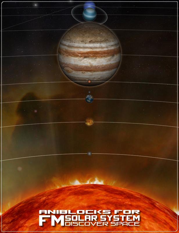 aniBlocks for FM Solar System by: Flipmode, 3D Models by Daz 3D