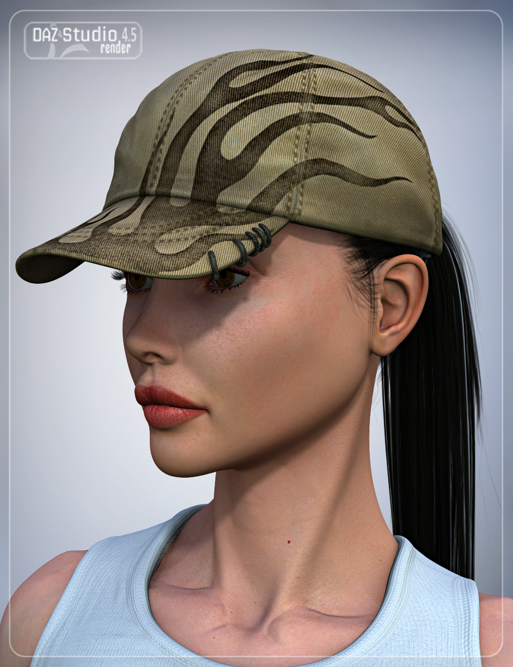 SG Baseball Cap for Genesis by: smay, 3D Models by Daz 3D