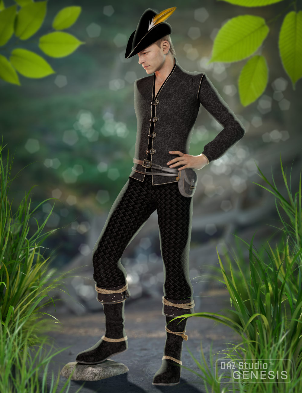 Adventure Land Outfit by: MadaSarsa, 3D Models by Daz 3D