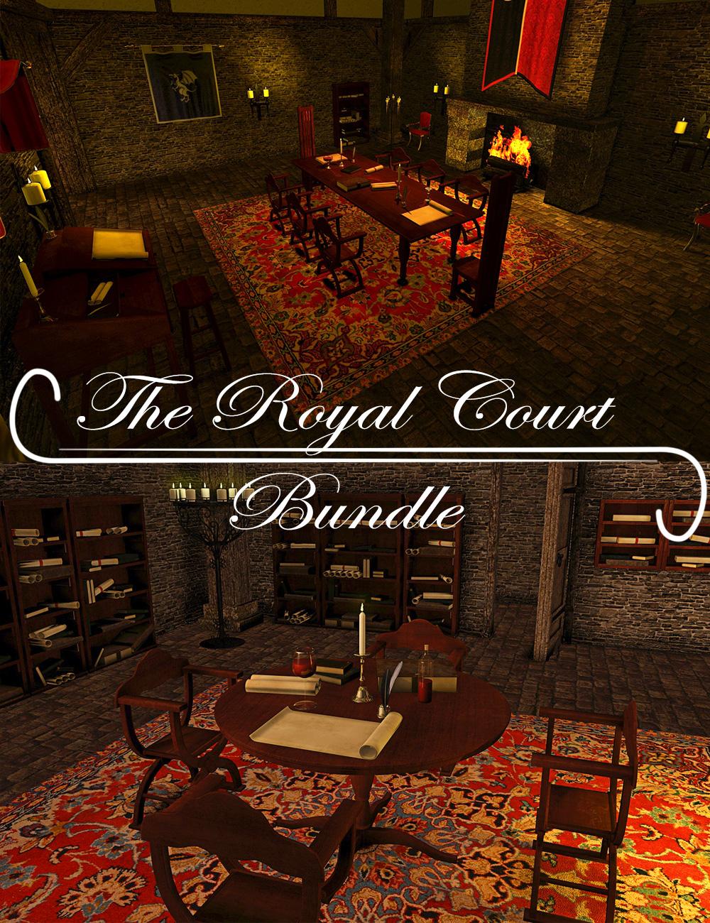 Royal Court Bundle by: ARTCollaborationsNeilV 1, 3D Models by Daz 3D