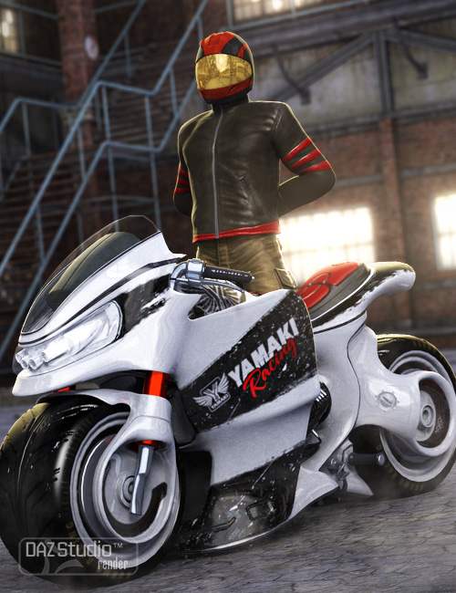Yamaki FDR2 Fusion by: Ravnheart, 3D Models by Daz 3D