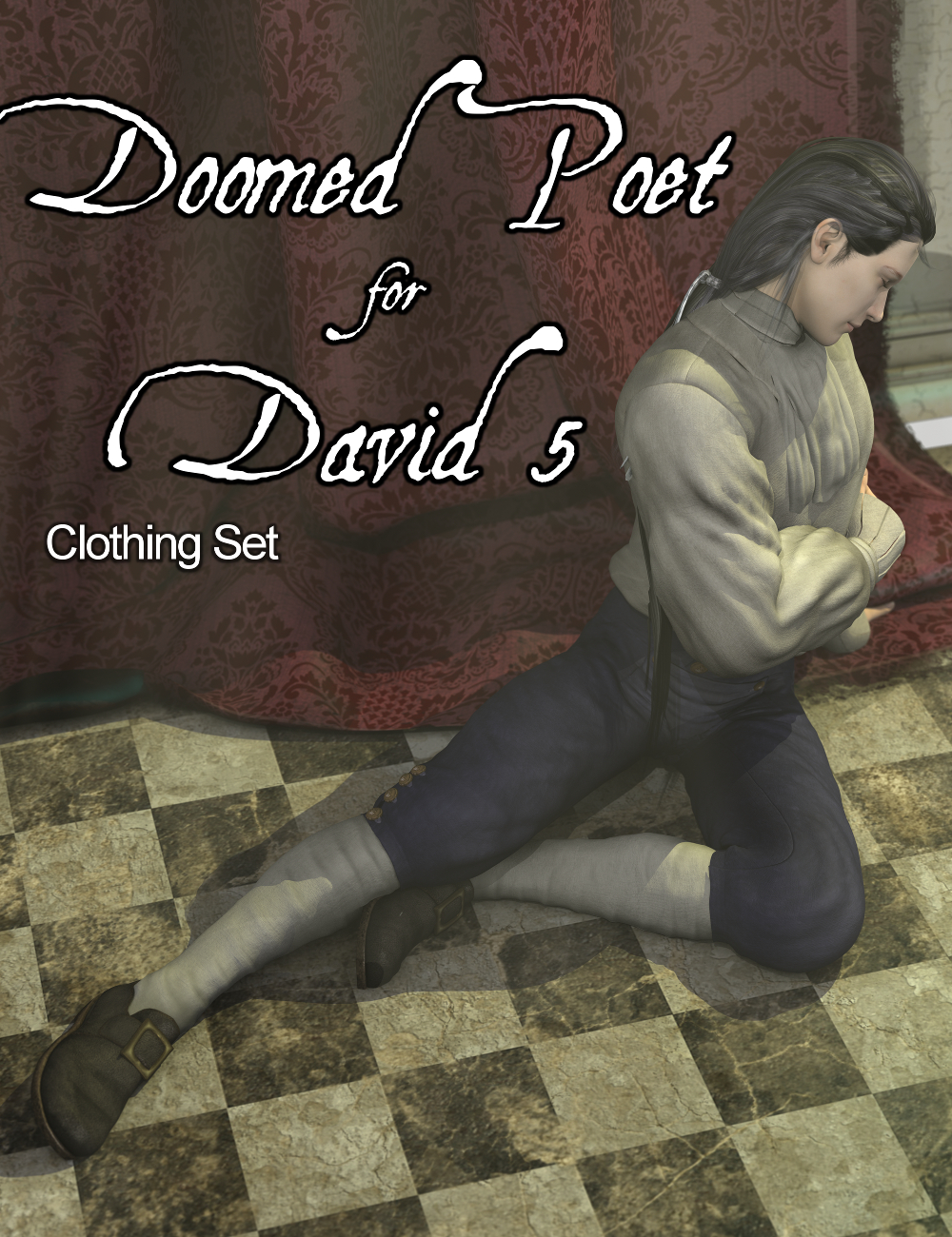 Doomed Poet Clothing by: Sickleyield, 3D Models by Daz 3D