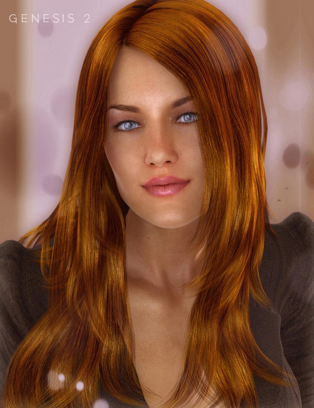 Dream Hair by: , 3D Models by Daz 3D