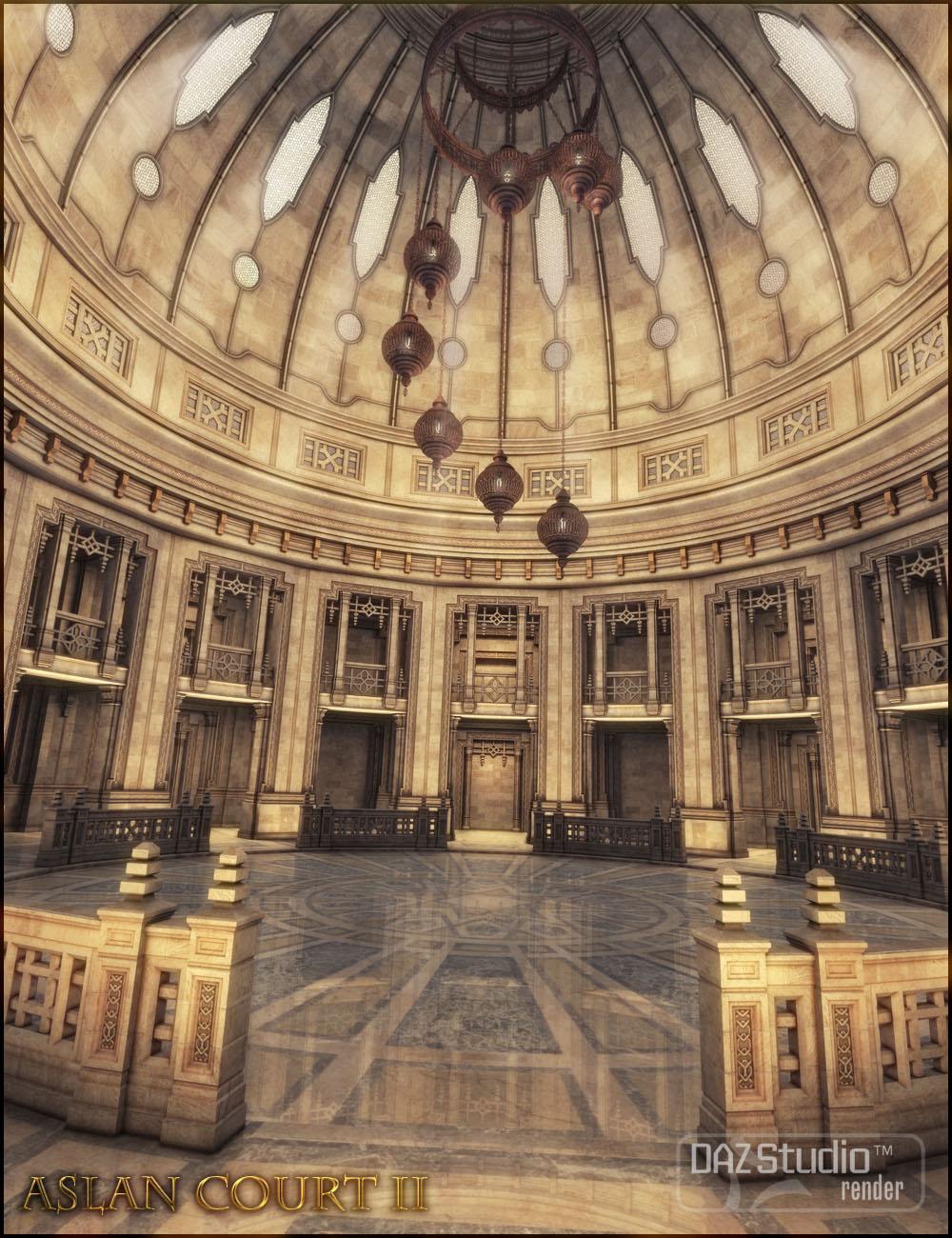 Aslan Court 2 by: Jack Tomalin, 3D Models by Daz 3D