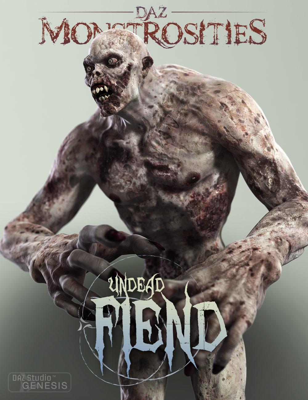 DAZ Monstrosities: Undead Fiend by: , 3D Models by Daz 3D