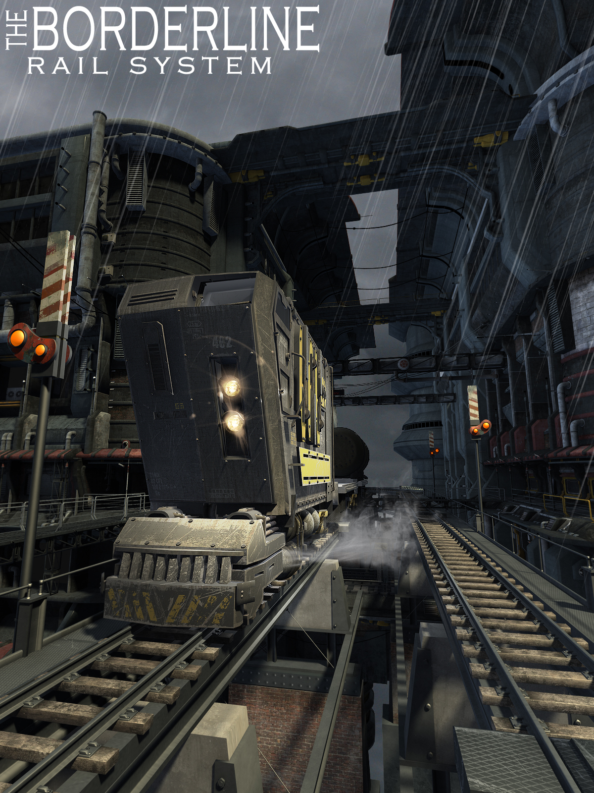 The BorderLine by: The AntFarm, 3D Models by Daz 3D