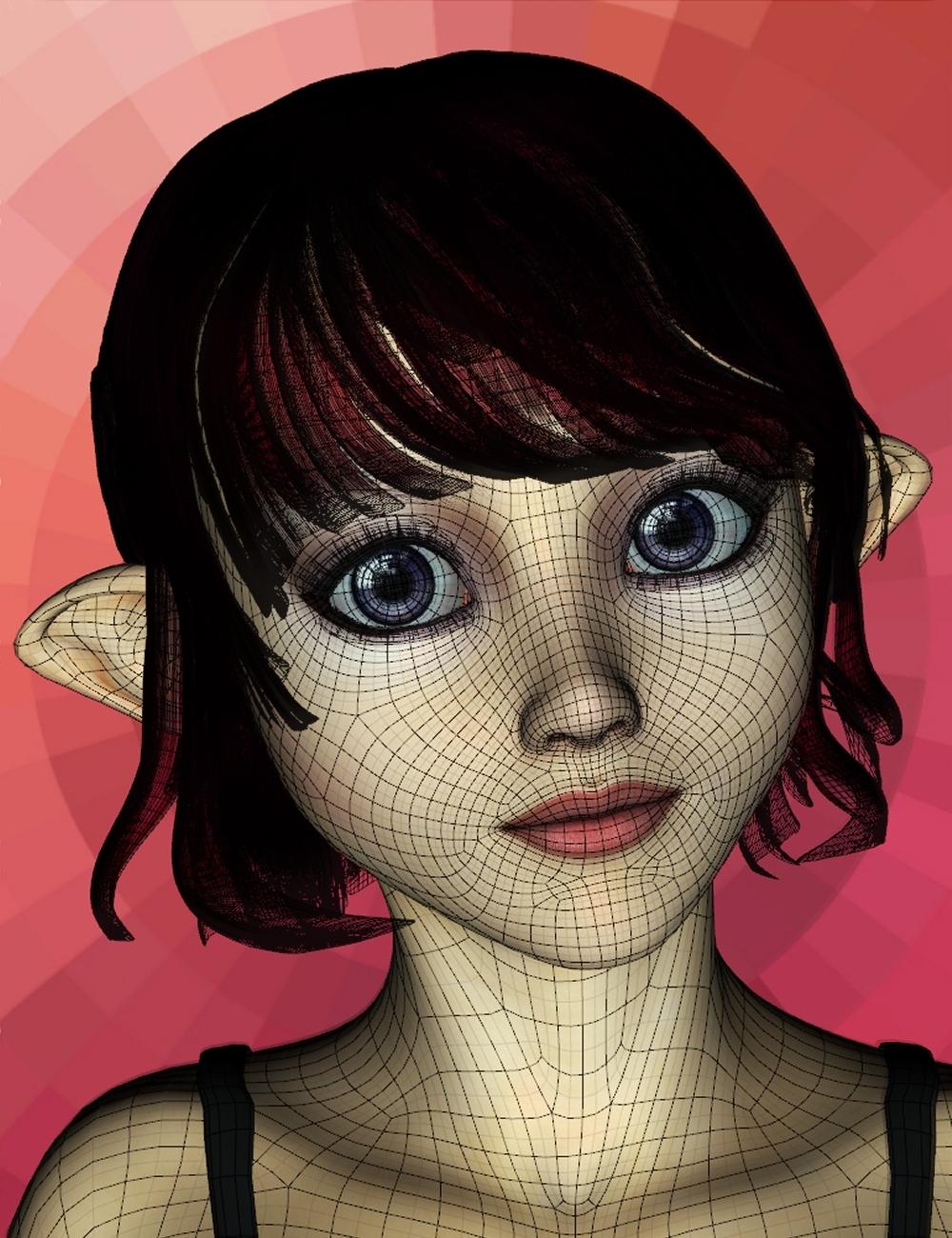 Genesis Aiko 5 Head Morph Resource Kit by: ThorneHandspan Studios, 3D Models by Daz 3D