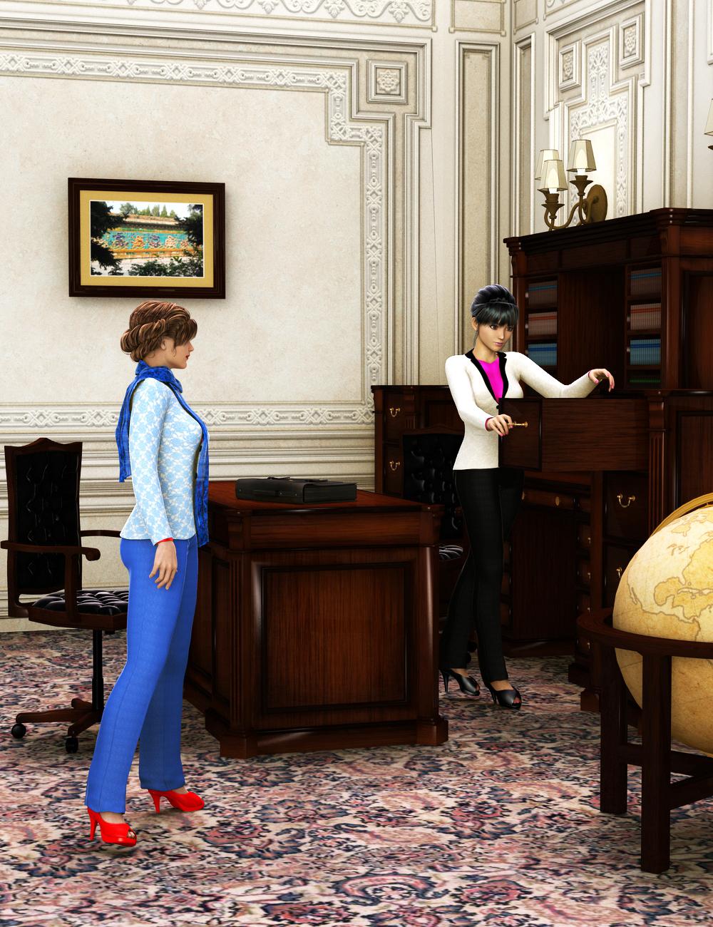 Power Office by: , 3D Models by Daz 3D