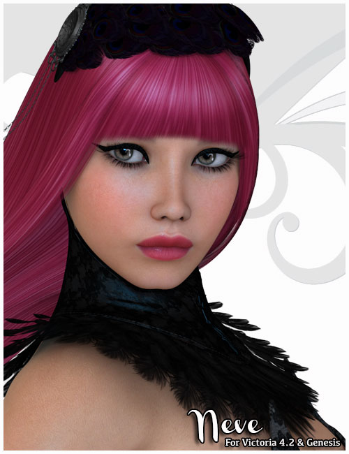 Neve for Victoria 4 and Genesis by: Belladzines, 3D Models by Daz 3D