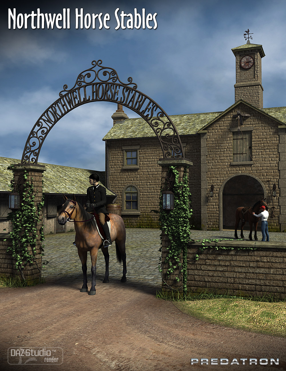Northwell Horse Stables by: Predatron, 3D Models by Daz 3D