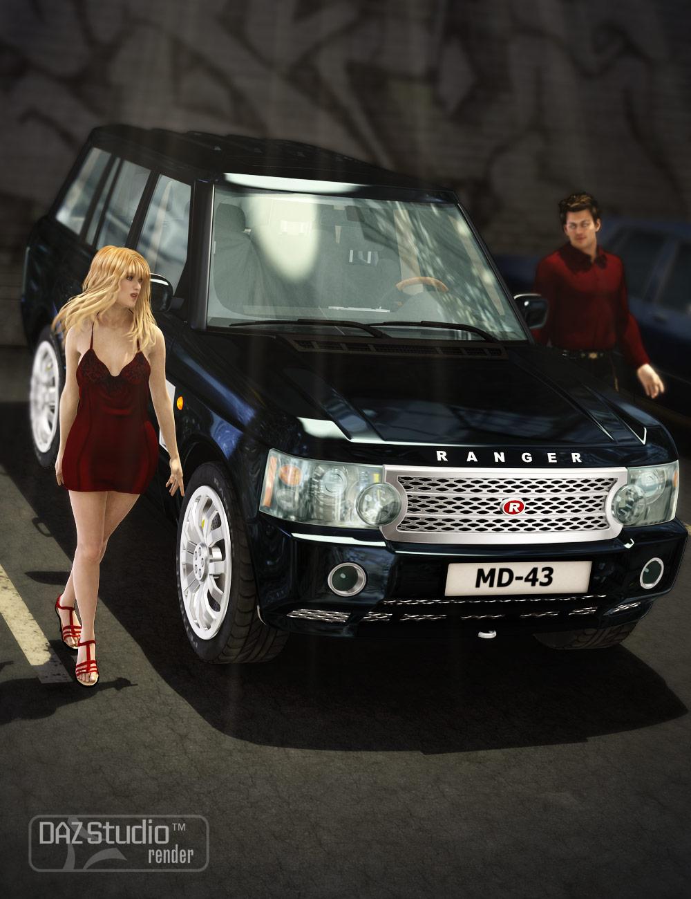 Car Ranger by: petipet, 3D Models by Daz 3D
