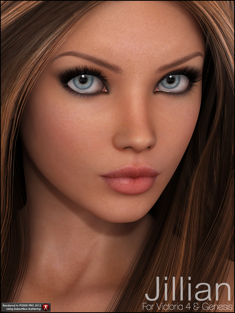 Jillian by: JessaiiCountess, 3D Models by Daz 3D