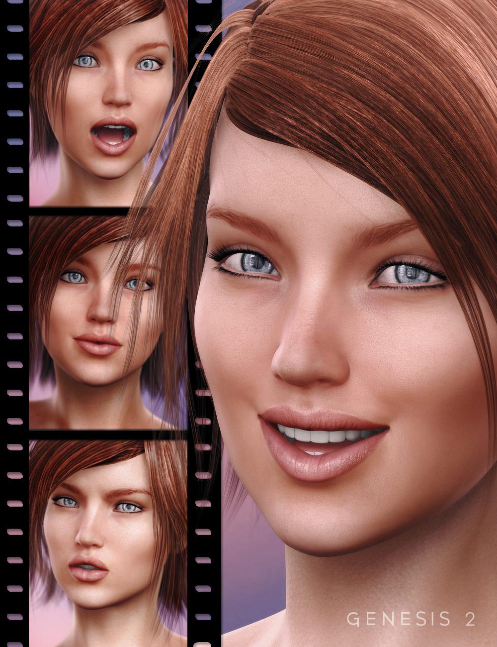 Sweet Emotion V6 by: 3DCelebrity, 3D Models by Daz 3D