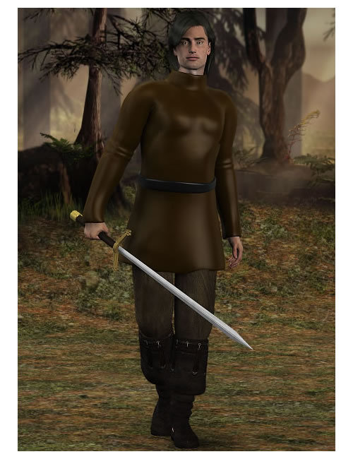 M3 Tunic Pack by: , 3D Models by Daz 3D