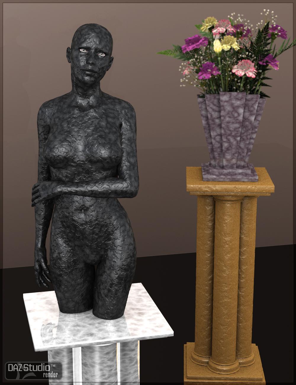 Magical Granite Shader by: Digital Lite Design, 3D Models by Daz 3D