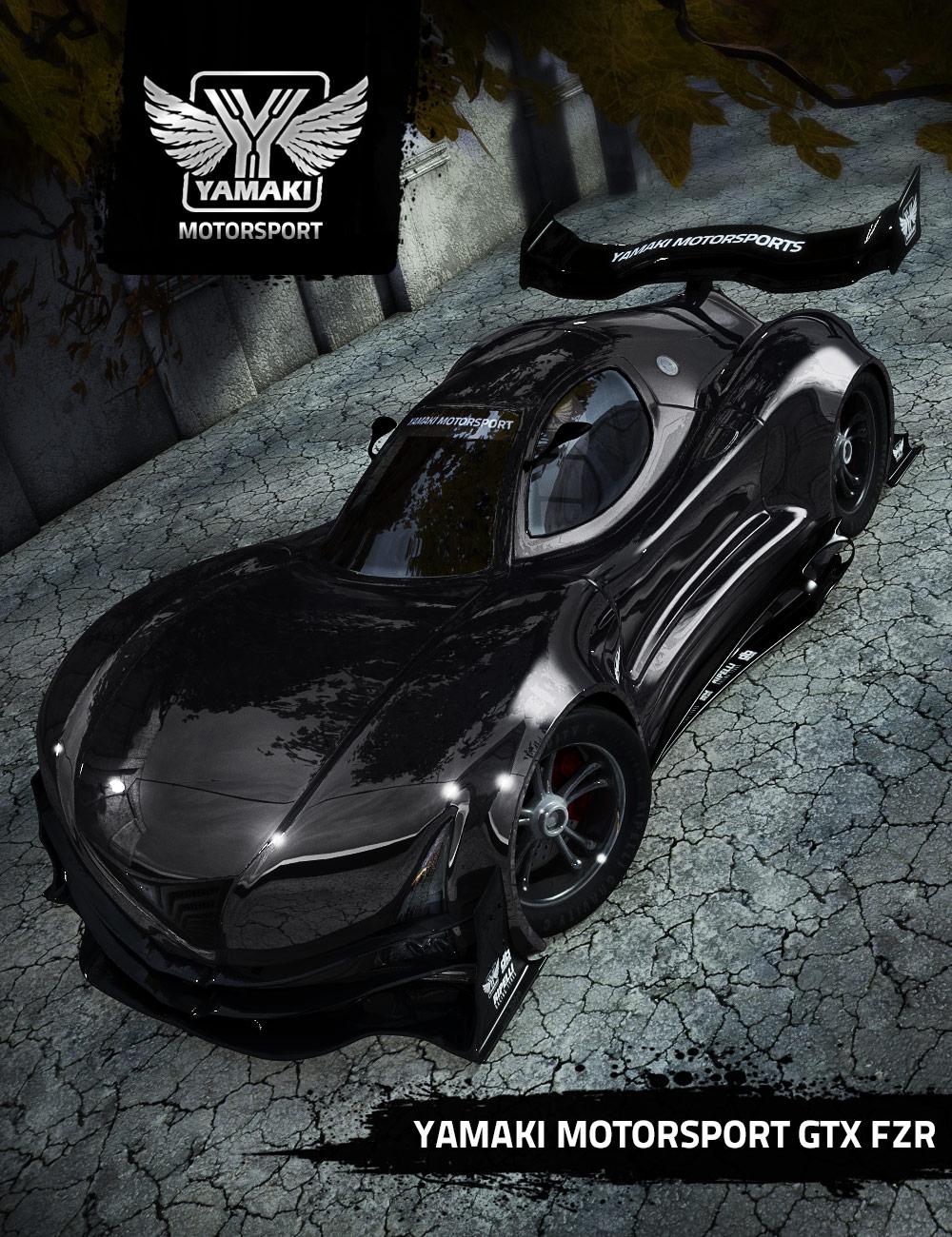 Yamaki GTX-R by: Ravnheart, 3D Models by Daz 3D