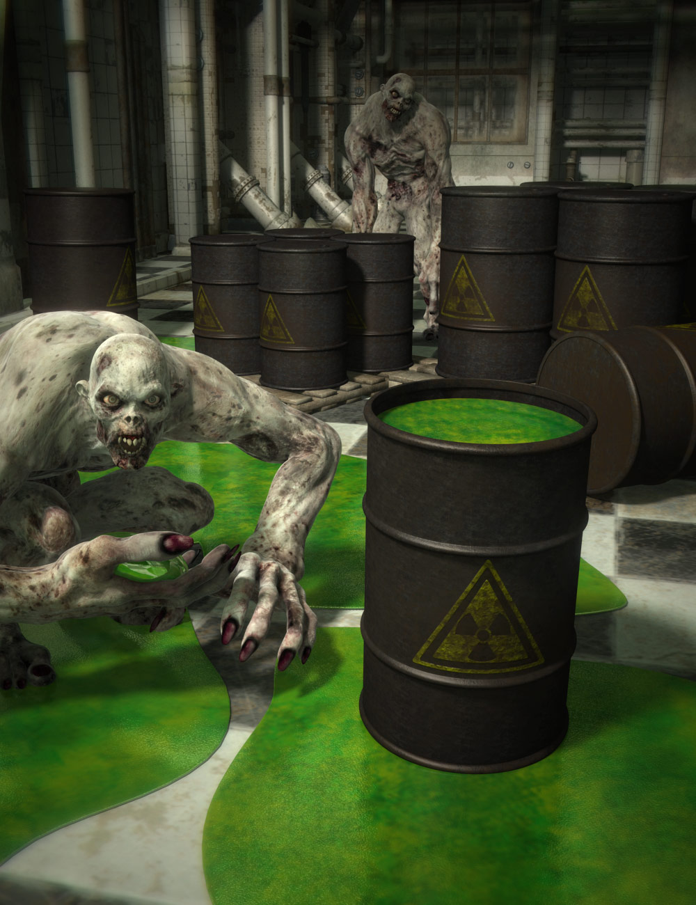 Toxic by: ARTCollab, 3D Models by Daz 3D