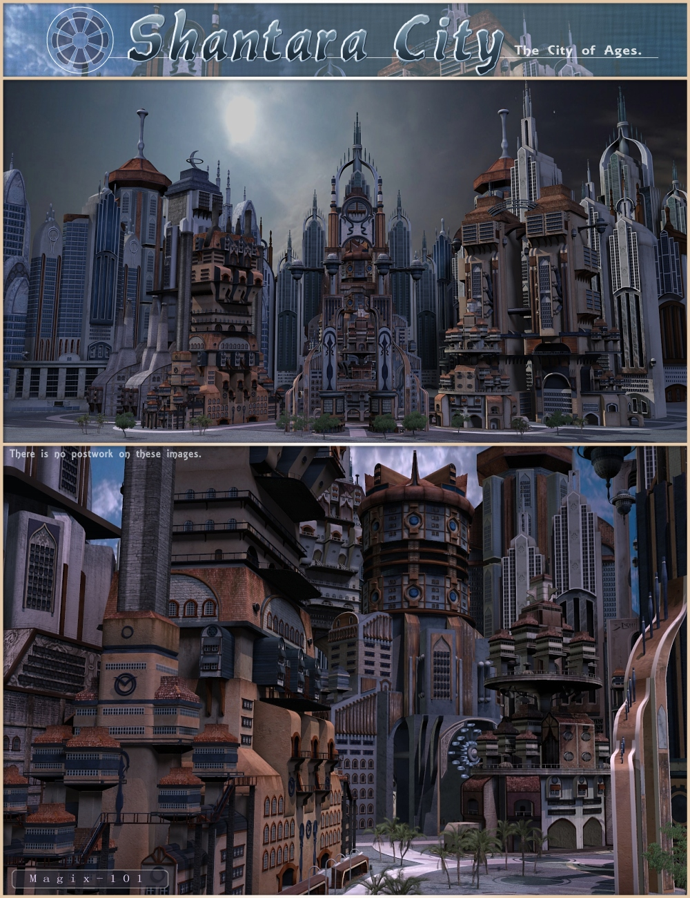 Shantara City by: Magix 101, 3D Models by Daz 3D