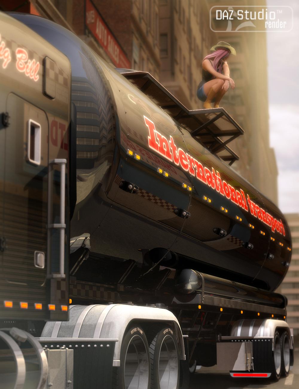 Big Bill Trailer by: petipet, 3D Models by Daz 3D
