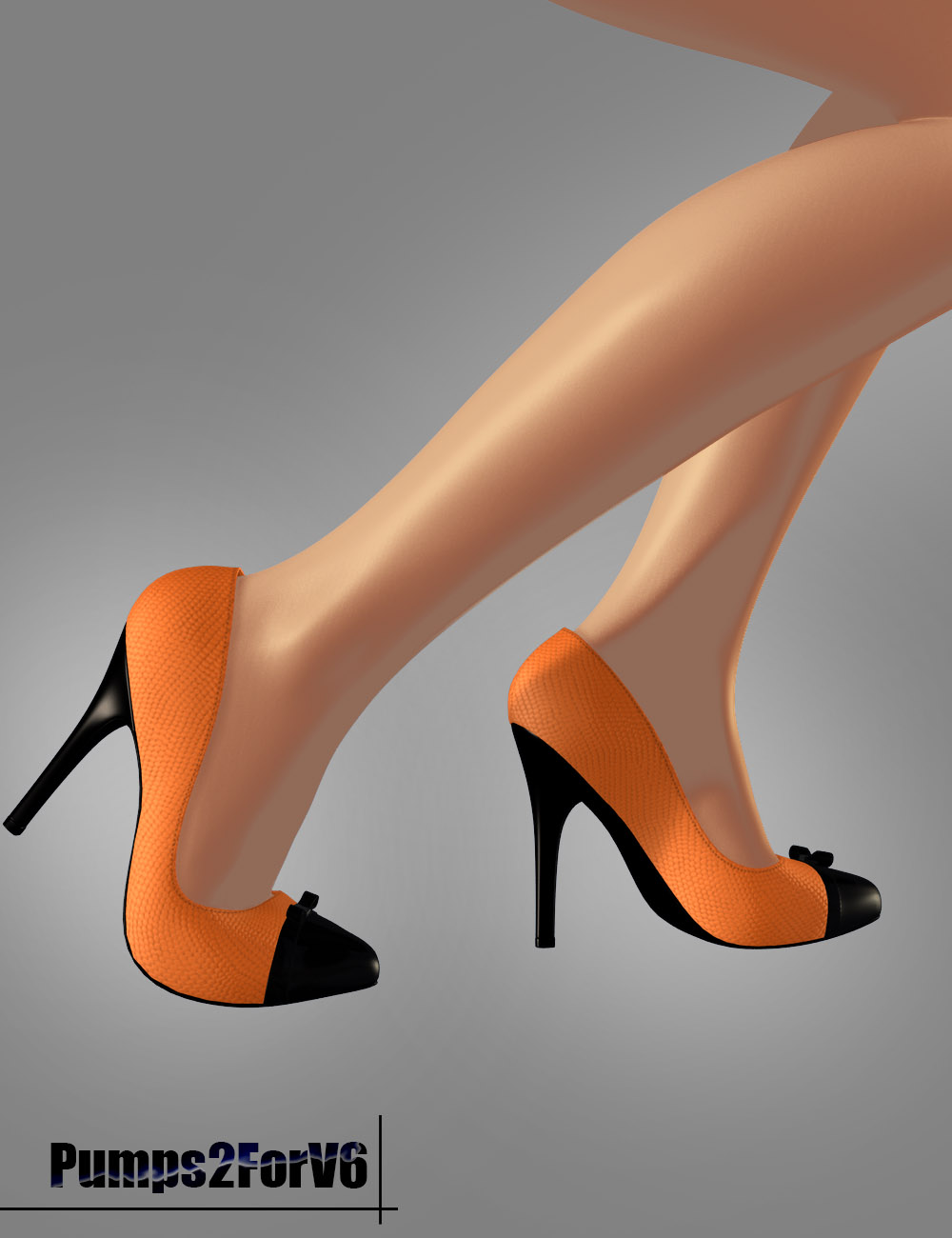 Pumps 2 for Victoria 6 by: dx30, 3D Models by Daz 3D