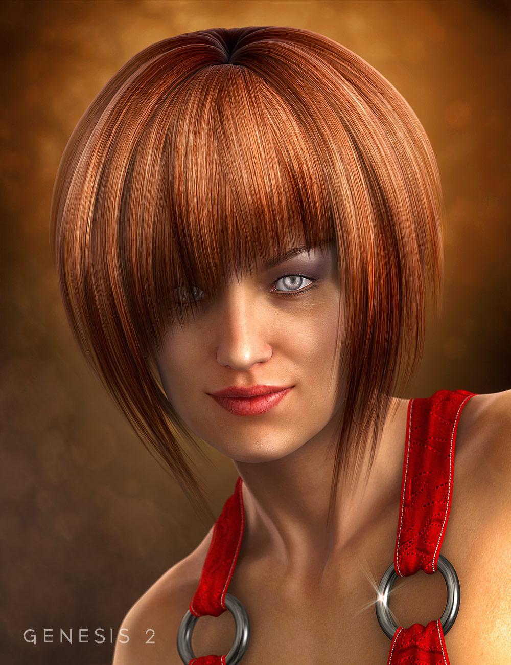 Nightfever Hair by: , 3D Models by Daz 3D