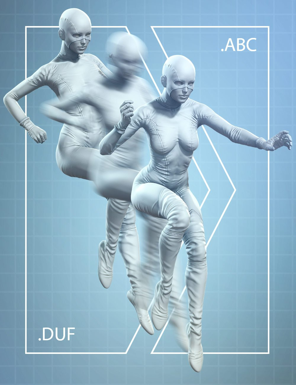 Alembic Exporter for DAZ Studio by: , 3D Models by Daz 3D